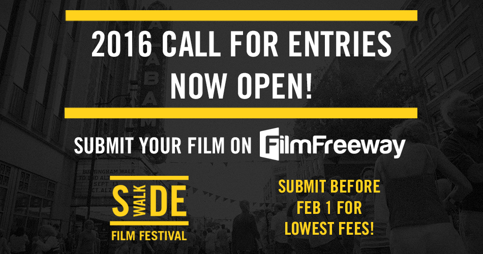 Sidewalk 2016 Call for Entries Open